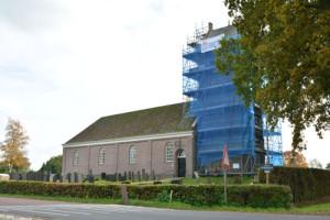 kerktoren opknappen Ureterp
